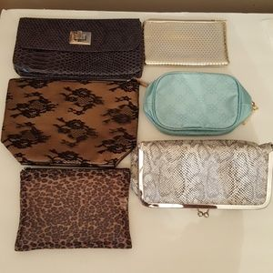 Handbags - Lot of 6 cosmetic bags
